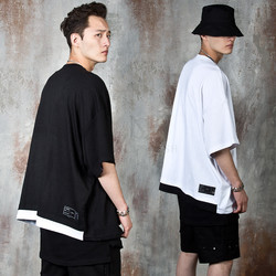 Oversized two tone t-shirts