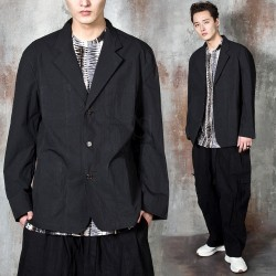 Oversized 3 button jacket