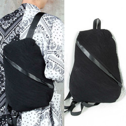 Diagonal Patterned Compact Backpack