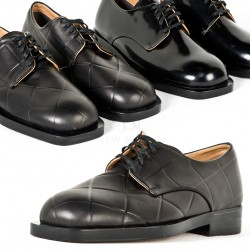Sophisticated round toe oxford shoes