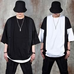 Side contrast t-shirts