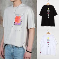 Multiple logos printed t-shirts