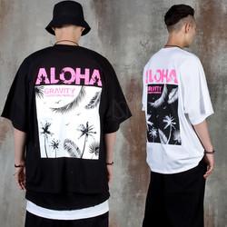 Pink Aloha batwing t-shirts