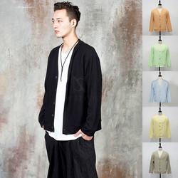 Simple thin knit cardigan