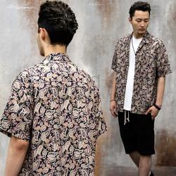 Paisley pattern printed shirts