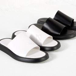 Sophisticated slider slipper