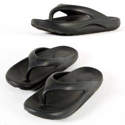 Comfy all-rubber flip flop