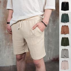 Simple natural cotton shorts