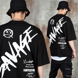 Street vibe lettering t-shirts