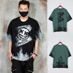 Grunge brush t-shirts