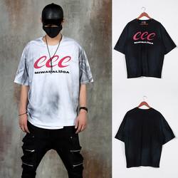 Grunge dye lettering t-shirts