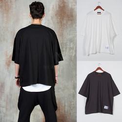 Plain loose-fit t-shirts