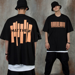 Barcode accent t-shirts