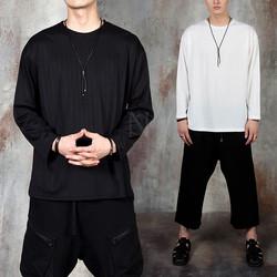 Long sleeve round t-shirts