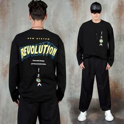 Revolution lettering t-shirts
