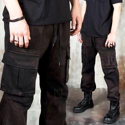 Grunge washed cargo pants