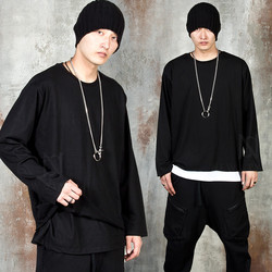 Double layered long sleeve t-shirts