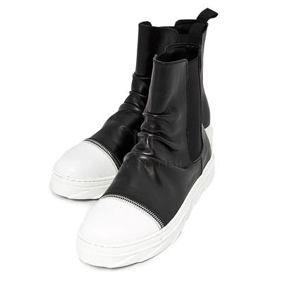 high-top sneaker boots