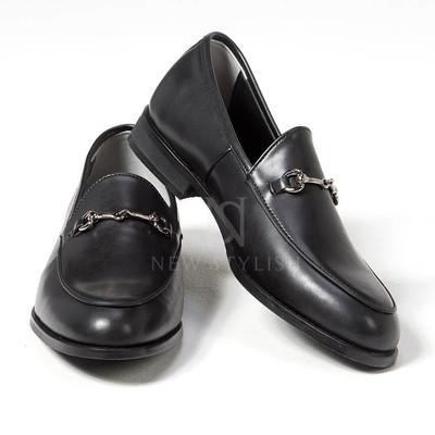 metal clip u-tip shoes