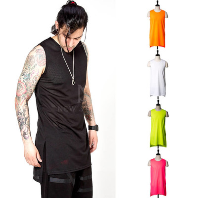 side incision mesh long tank