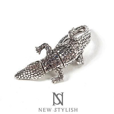 Metal crocodile joint bracelet