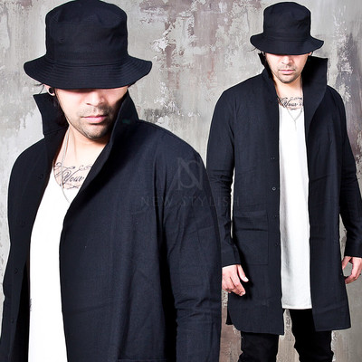 loop roll-up slim shirts