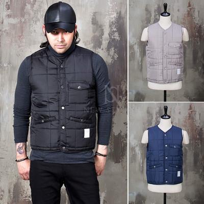 Sophisticate padded button up short vest