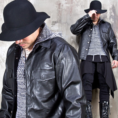 Leather western shirts
