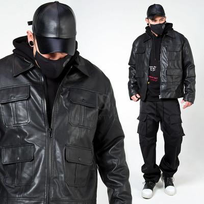4 pocket leather jacket