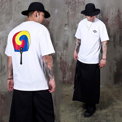 Korean Taegeuk symbol t-shirts