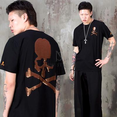 Spangle skull t-shirts