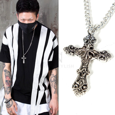 Celtic cross chain necklace