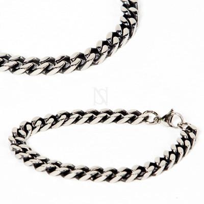 Simple metal chain bracelet