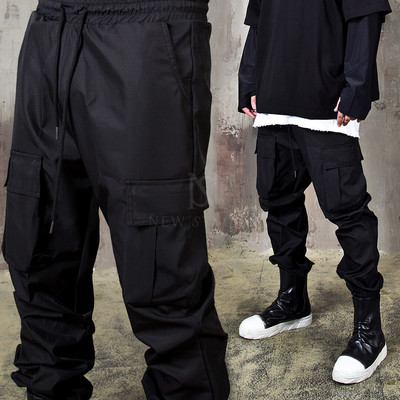 Triple cargo pocket jogger pants