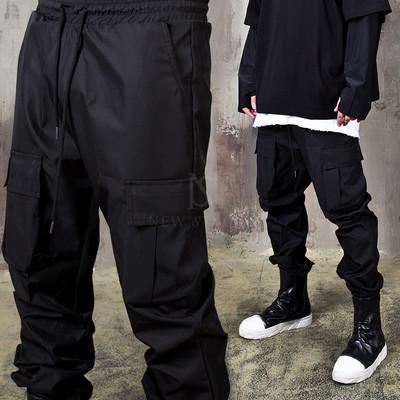 Triple cargo pocket jogger pants
