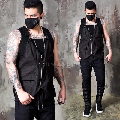 Techwear utility  vest
