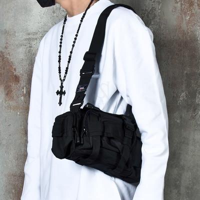 Techwear multiple pocket bum bag