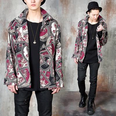 Unique patterned silket shirts