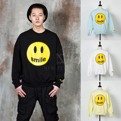 Cute smile emoji sweatshirts