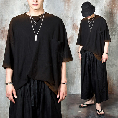 Grunge color contrast oversized t-shirts