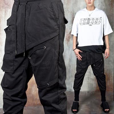Unique cover pocket cargo pants