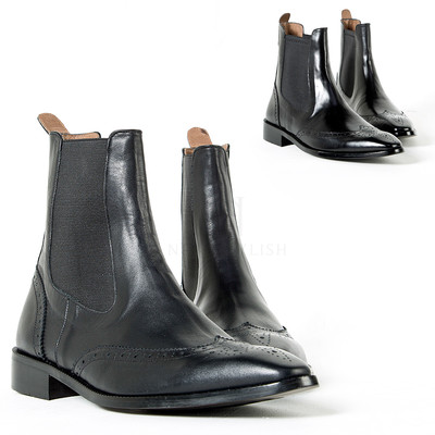 Wing-tip chelsea boots vol.2