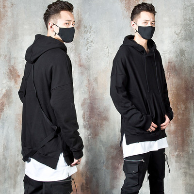 Triangle back strap hoodie