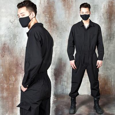 Cargo pocket jumpsuit