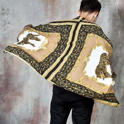 Gold cheetah cape shirts