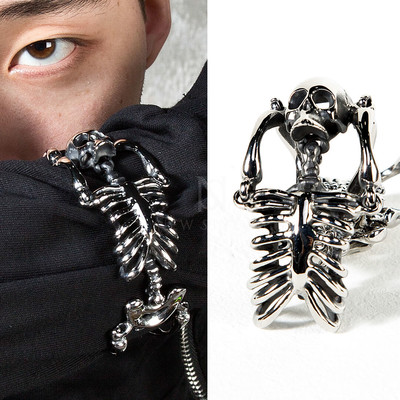 Metal skeleton joint bracelet