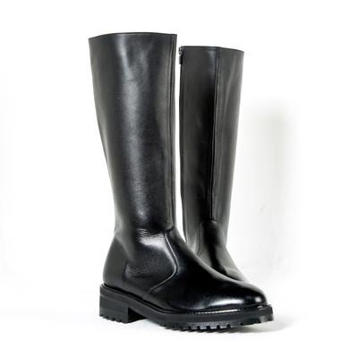 Commando sole zip-up long boots