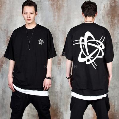 Futuristic symbol printed t-shirts